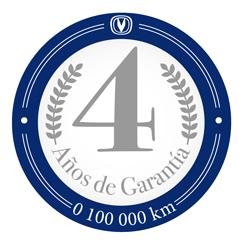 4 Años de Garantía